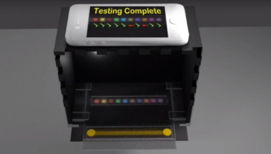 Система анализа мочи на тест-полосках, которая не делает ошибок