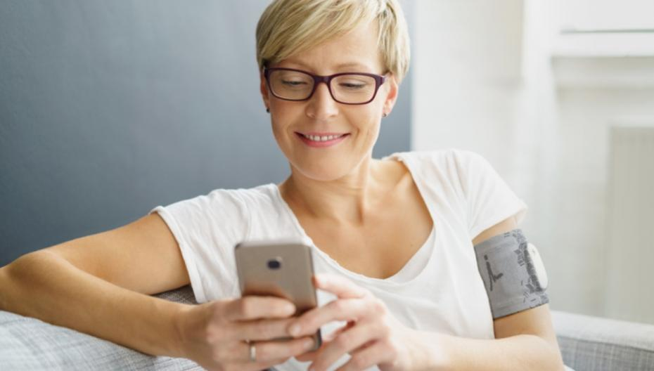 Электронный патч для избавления от боли при мигрени