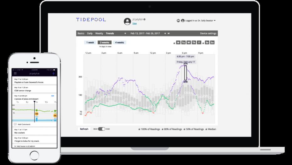 Tidepool разрабатывает приложение для системы автоматического ввода инсулина