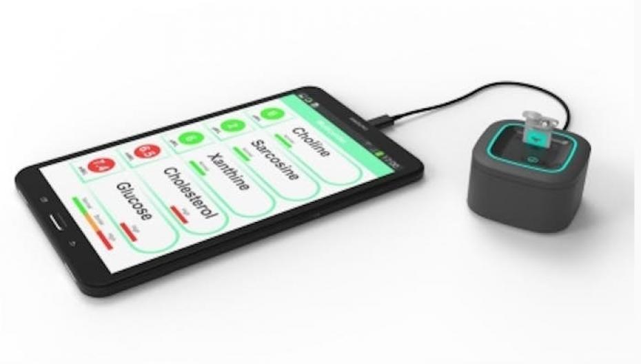 Портативный прибор, способный быстро обнаружить биомаркеры рака или инфаркта