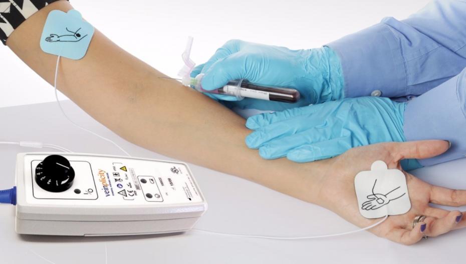 Veinplicityупрощает доступ к венам пациентов