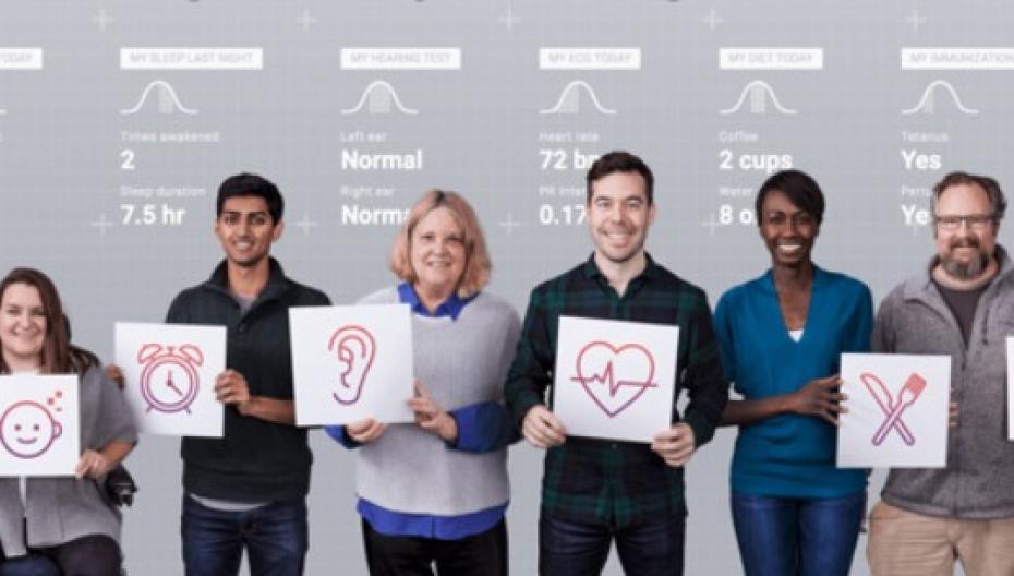 """Alphabet Verily начала исследования с целью определения """"карты человеческого здоровья"""""""
