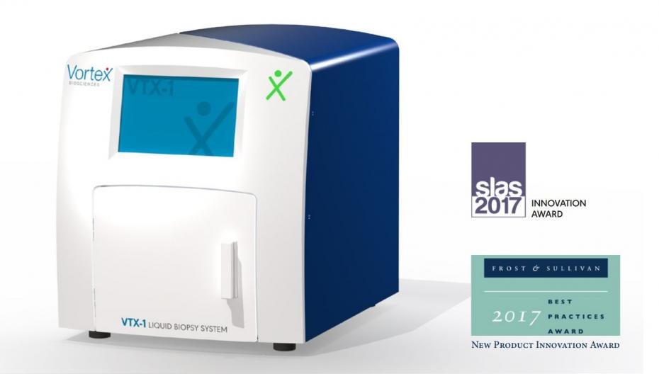 Компактная система для жидкой биопсии от Vortex