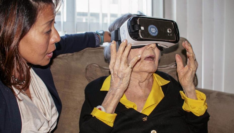 VR-платформа для удаленного мониторинга пациентов