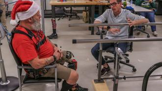 Искусственный интеллект для протеза