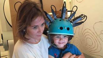 Магнитный сканер для оценки развития мозга у детей