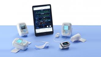 Монитор давления и других параметров здоровья от Caretaker Medical