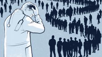 AI-система для борьбы с перегоранием врачей