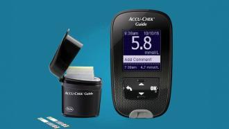 Accu-Check Guide: новый глюкометр от Roche