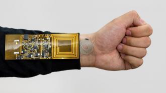 Гибкие беспроводные датчики контроля состояния тела