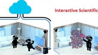 Молекулярное моделирование при разработке лекарств с помощью технологий виртуальной реальности