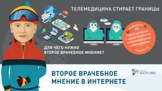 Второе врачебное мнение в Интернете