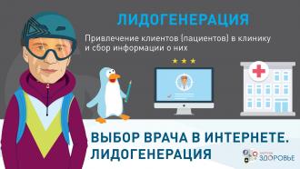 Выбор врача в интернете. Лидогенерация