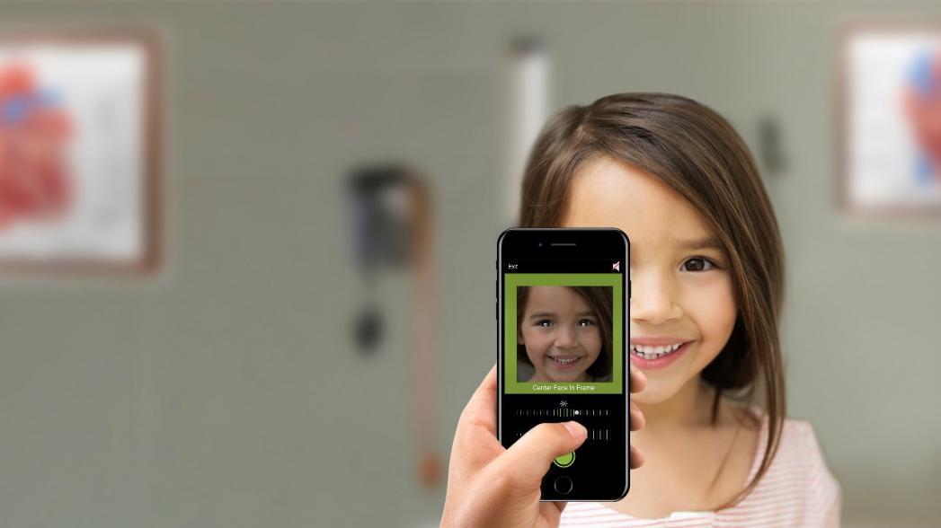 Диагностика зрения у детей с помощью смартфона