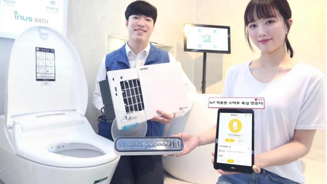 Технологии IoT для ванной с WiFi-унитазом