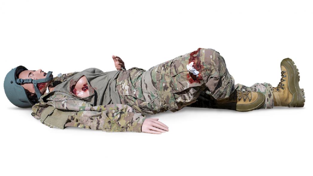 Первый женский симулятор ранений для обучения навыкам реагирования на поле боя