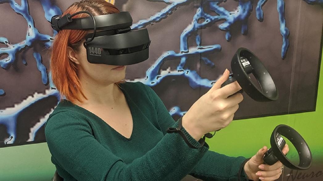 Арт-терапия при помощи виртуальной реальности