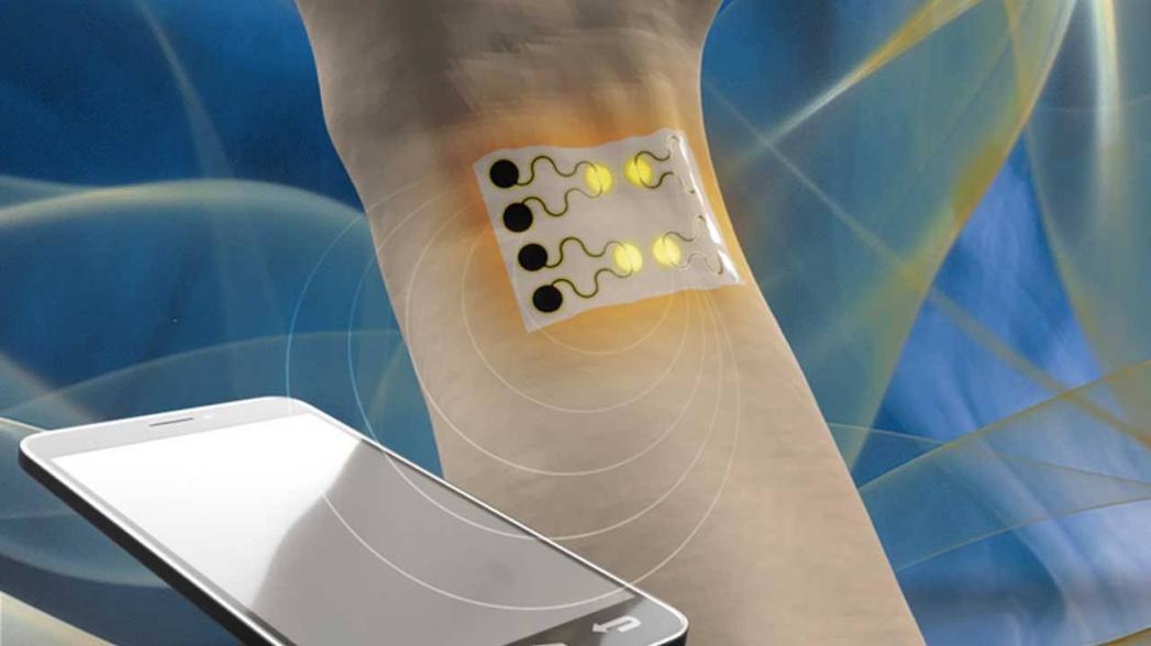 Носимый газовый сенсор для мониторинга здоровья