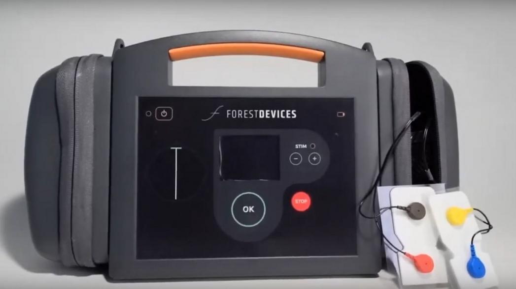 Портативный прибор для быстрой диагностики инсульта