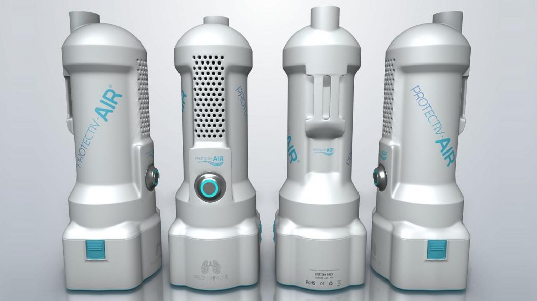 ProtectivAir: стерилизатор вдыхаемого воздуха