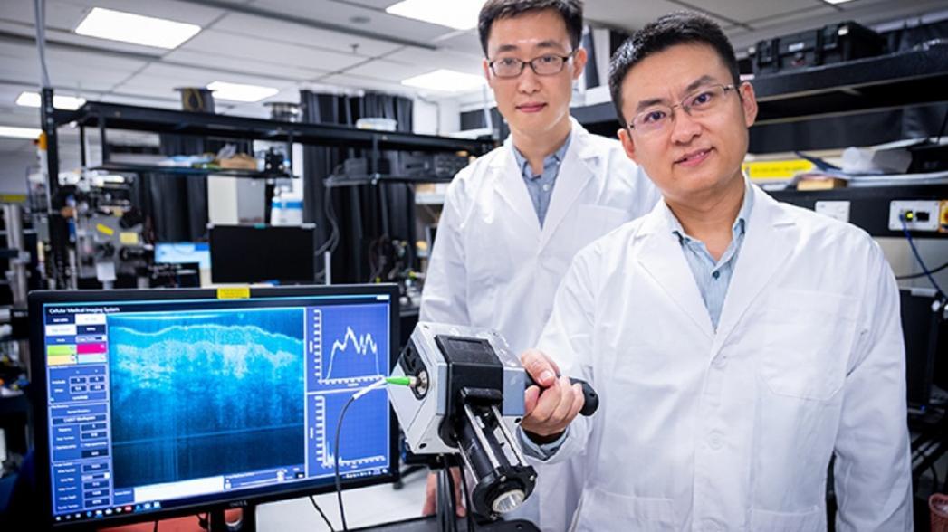 Портативное устройство, позволяющее обнаружить опухоли под поверхностью ткани