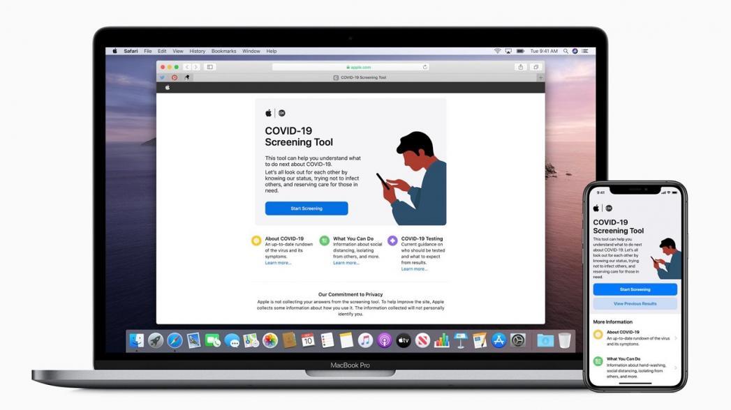 Apple выпустила программные инструменты для скрининга на COVID-19