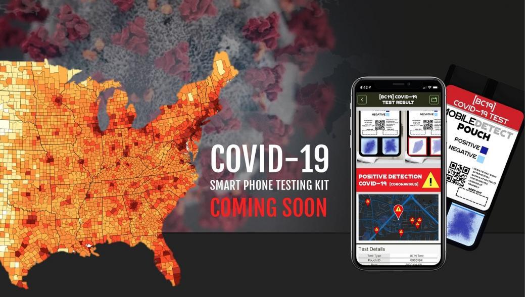Разработан массовый тестовый комплект на COVID-19 на базе обычного смартфона