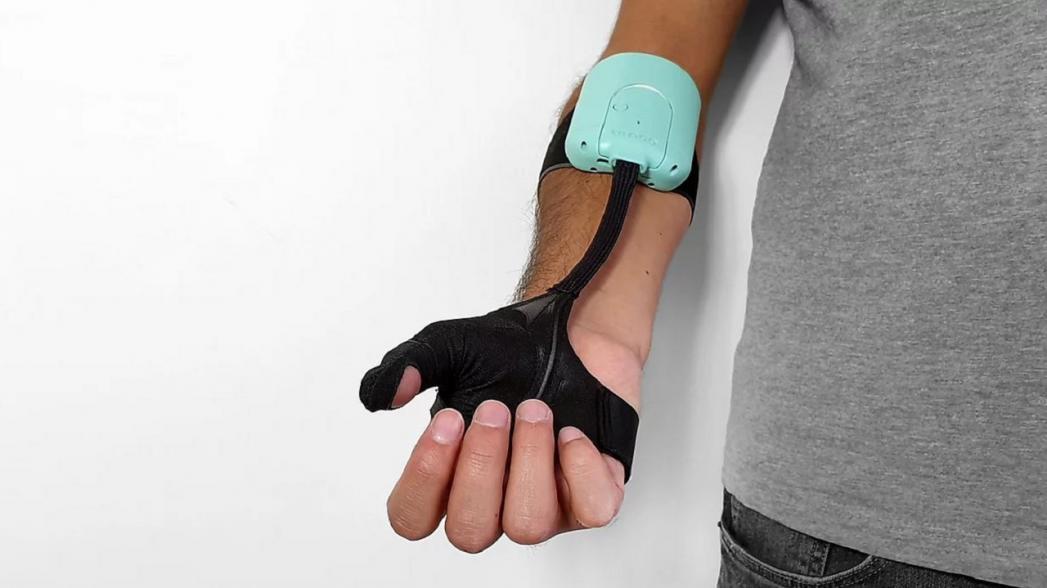 Роботизированный экзопротез руки для людей с ослабевшими хватательными способностями