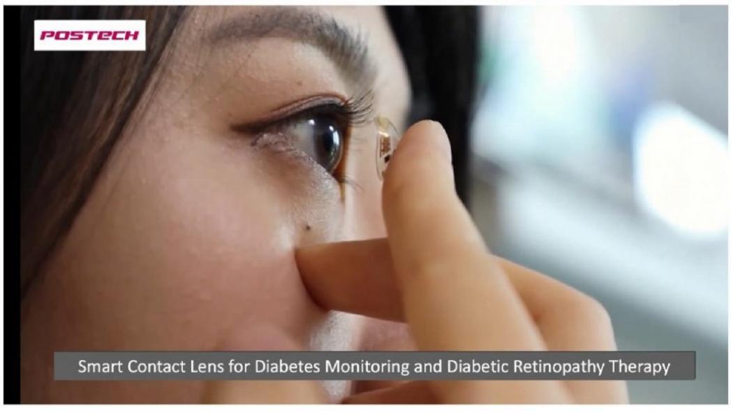 Контактные линзы, измеряющие уровень сахара и вводящие лекарство в организм человека