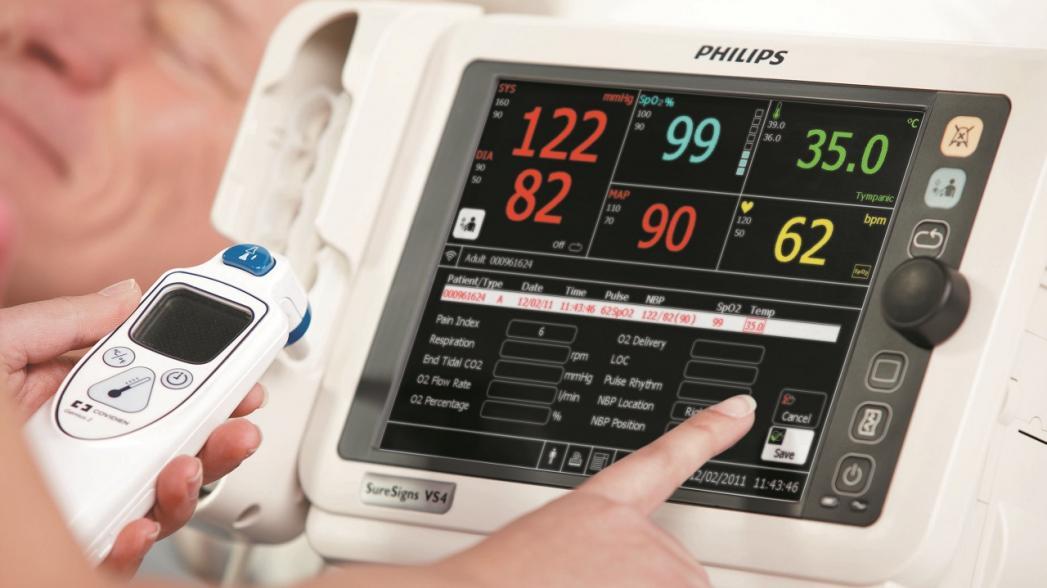 Сенсорная система Philips для удаленного мониторинга госпитализированных коронавирусных пациентов