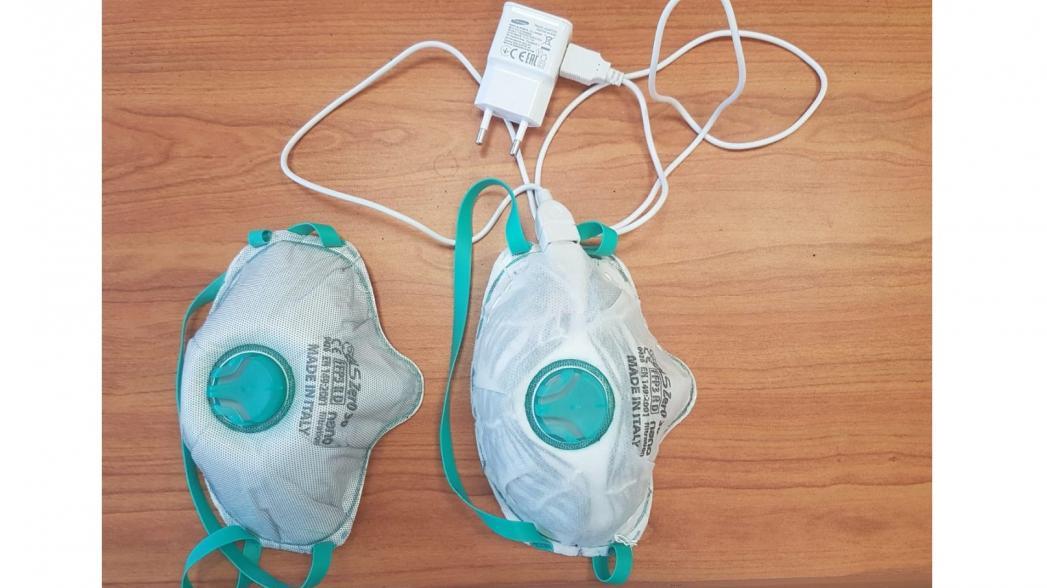 Медицинские маски, которые самостоятельно дезинфицируются