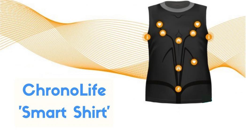 """""""Умная"""" футболка, обеспечивающая удаленный мониторинг здоровья"""