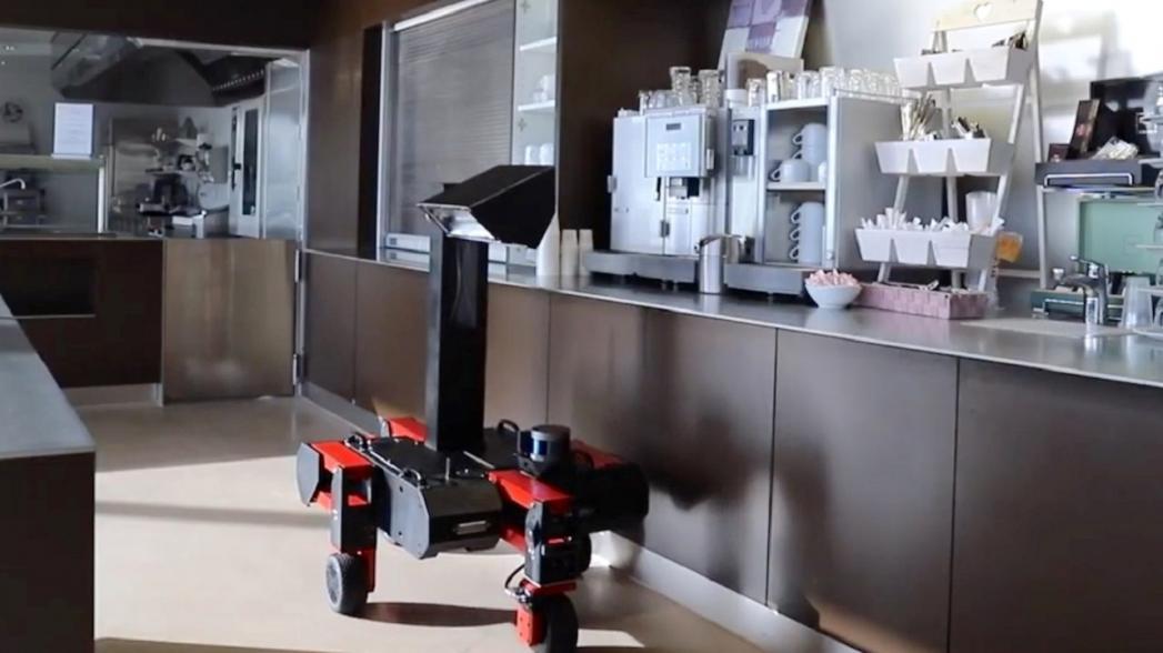 Дезинфекционный робот для офисов и коммерческих помещений