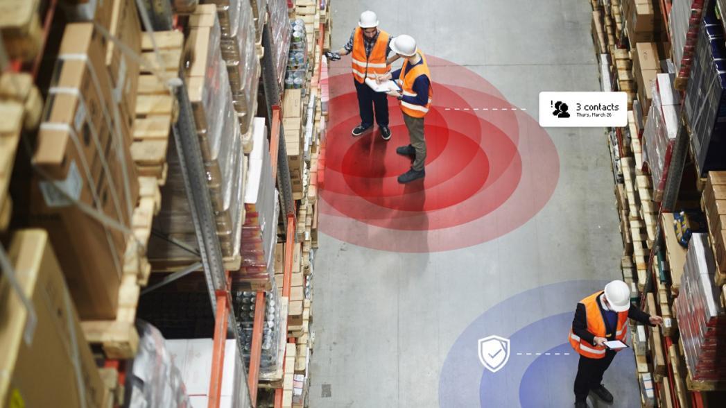 Reflex: Устройство для обеспечения безопасности рабочих теперь следит и за соблюдением социальной дистанции