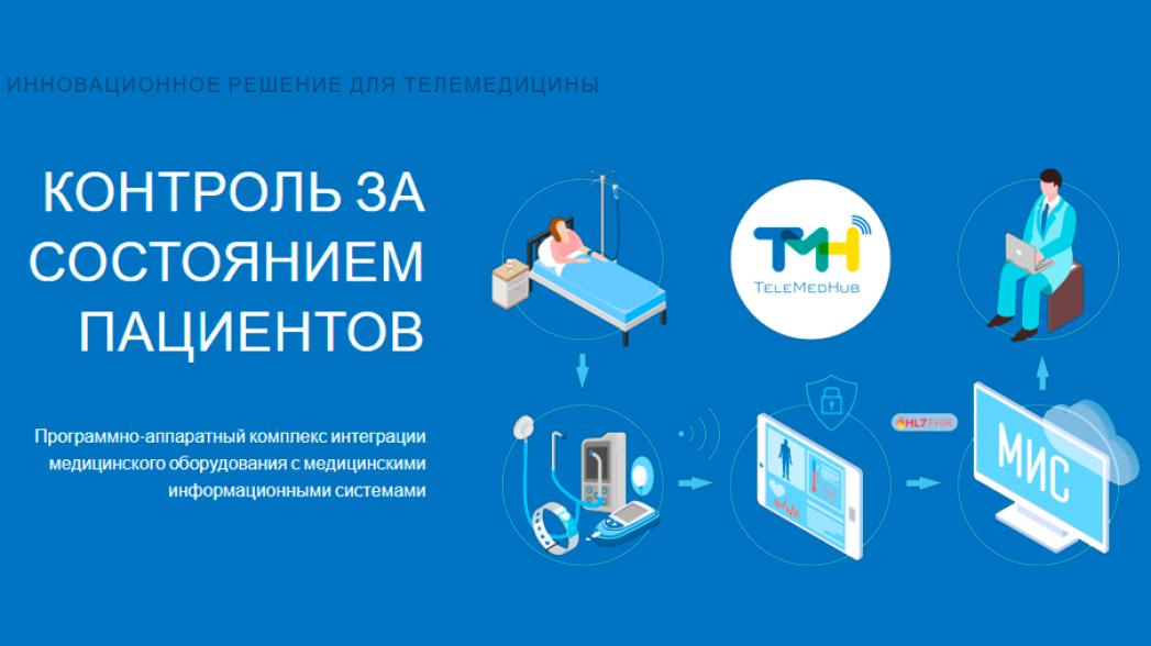 TeleMedHub - Программно-аппаратный комплекс интеграции медицинского оборудования с медицинскими информационными системами