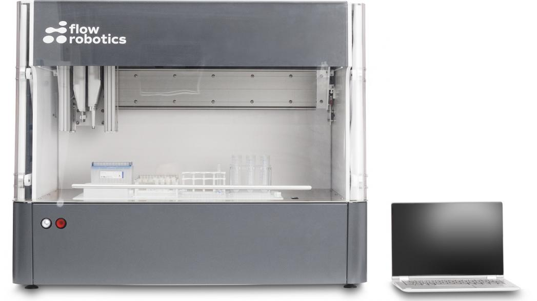 Датский робот для лабораторного тестирования COVID-19