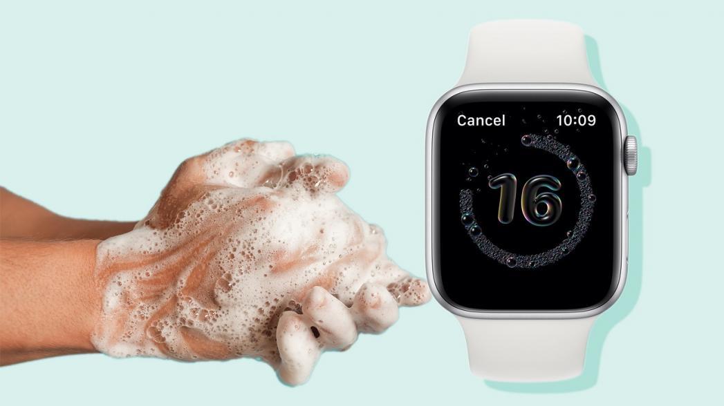 Apple Watch будут контролировать, как вы моете руки