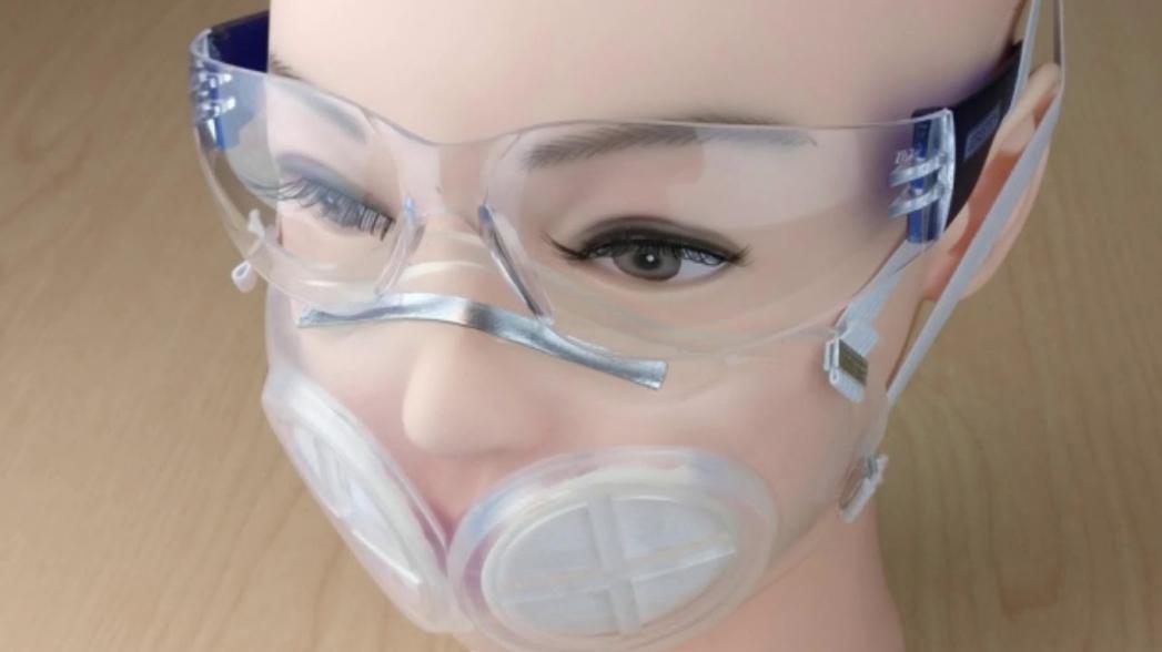 Маска для лица из силикона, которую легко стерилизовать