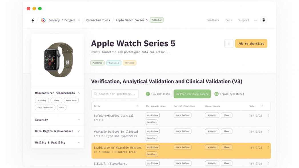 Бесплатная платформа для врачей для оценки инструментов удаленного мониторинга симптомов COVID-19