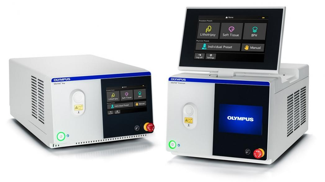 Olympus выпустила новую лазерную систему Soltive SuperPulsed для урологии