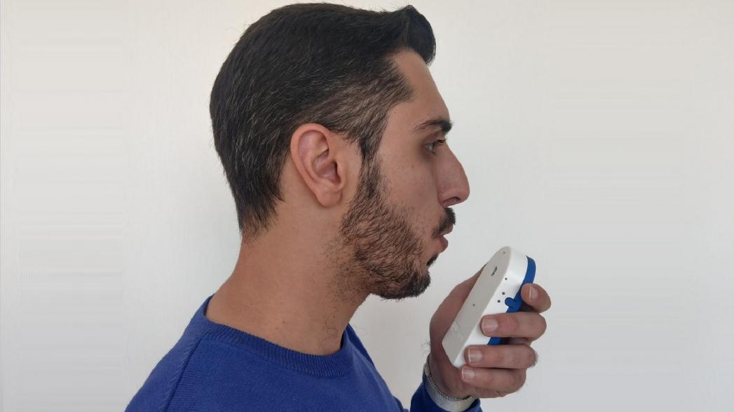 Детектор дыхания вынюхивает COVID-19 за 30 секунд