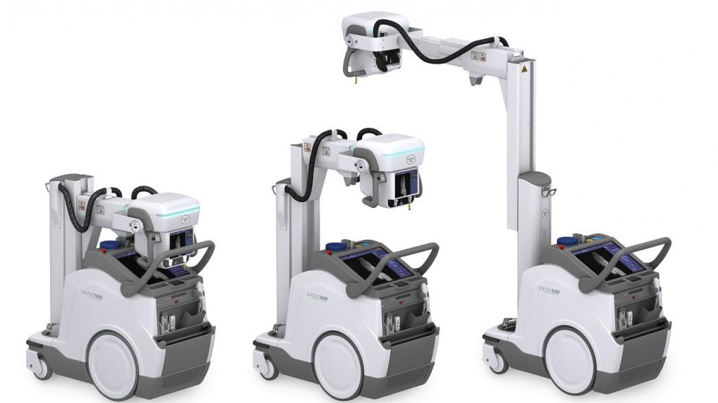Портативная рентгеновская установка от Canon Medical