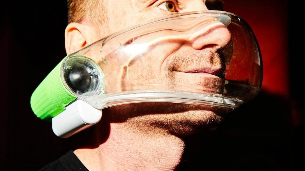 Atmos: Защитная маска с активной фильтрацией воздуха