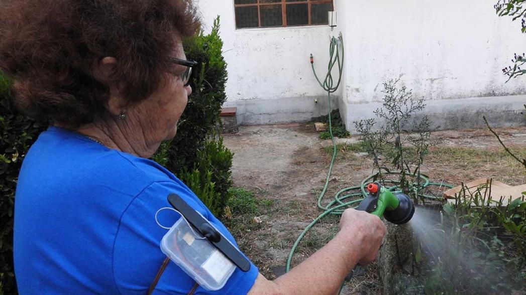 Монитор контроля самочувствия пожилых людей в изоляции