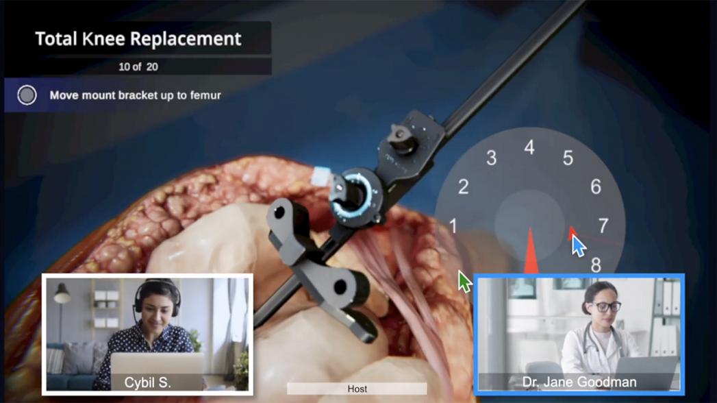 Virtual Technique Guides: Многопользовательское веб-приложение для тренировки хирургов
