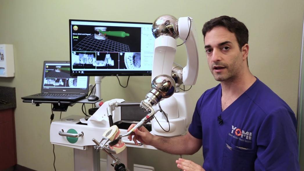 Стоматологический робот-хирург Neocis Yomi