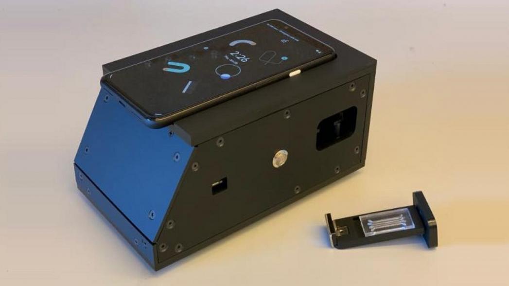 Прибор на базе смартфона может использоваться для тестирования на коронавирус