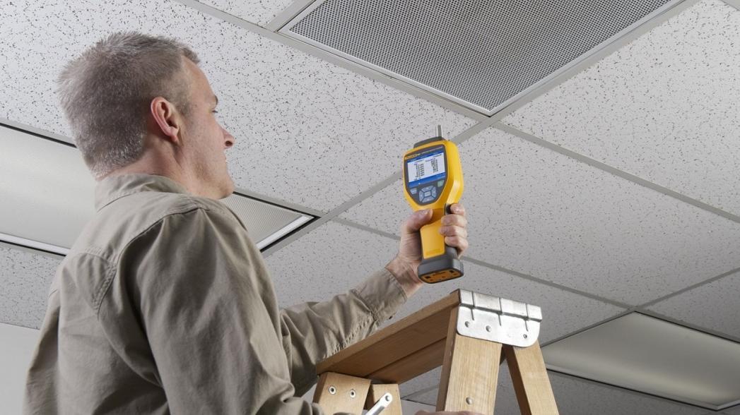 Портативный детектор для определения концентрации аэрозолей в публичных местах