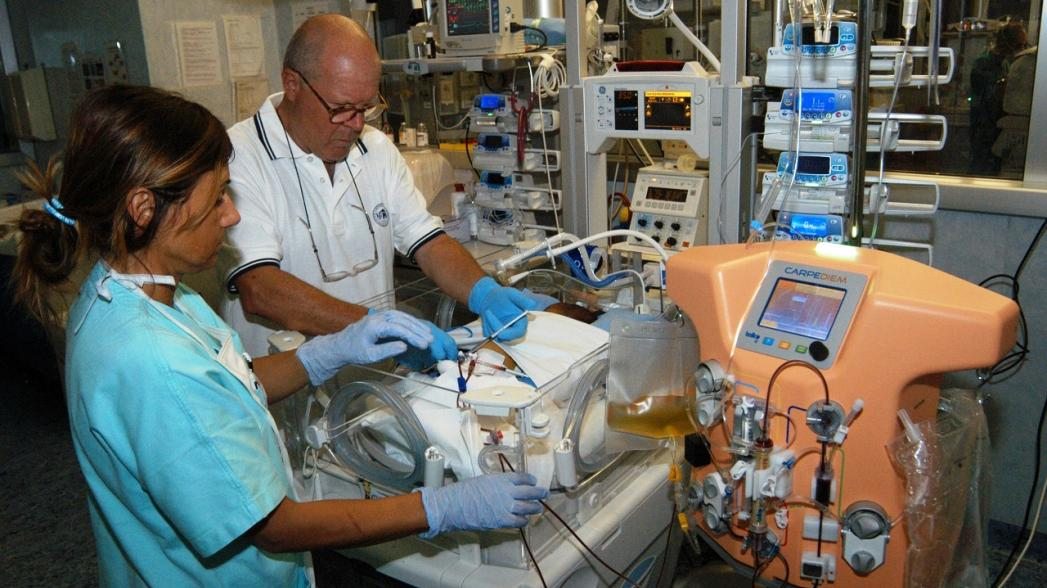 Medtronic выпустила аппарат для педиатрического/неонатального острого диализа