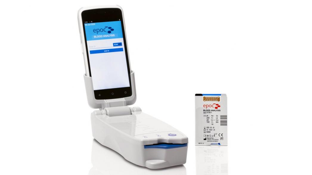 Siemens обновила свою портативную систему для анализа крови epoc, снабдив ее мобильным компьютером